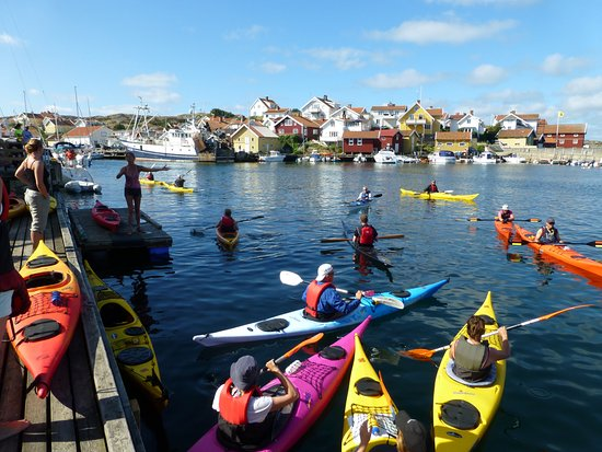 Kayak in Grundsund