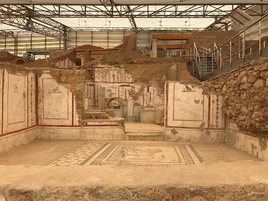 Casas adosadas de Éfeso: Fresk..