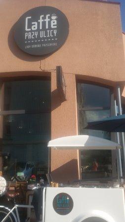 Cafe przy ulicy