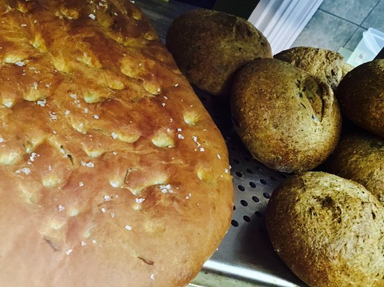 Green Olive Restaurant : Some of our Homemade Breads