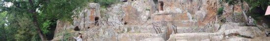 Sovana, Italy: Panoramica della tomba Ildebranda