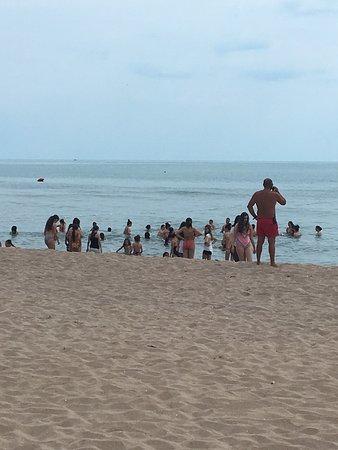 Lozenets, Bulgaria: Вот так выглядит море, когда приходит купаться детский лагерь, это уже второй день! Полный беспр