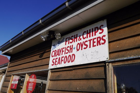 Dunalley, Australia: Fish Chips Crayfish Oysters Seafood