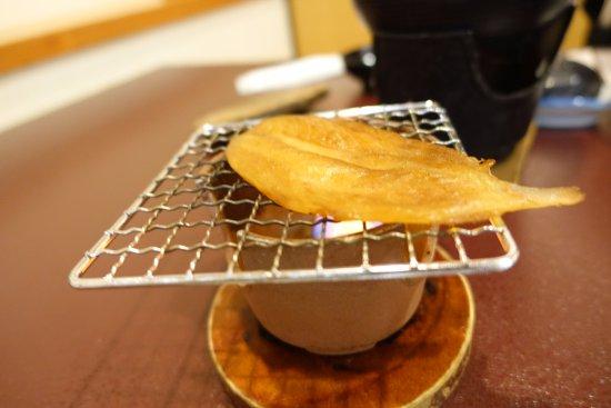 Wajima Yashio: 早餐的烤河豚