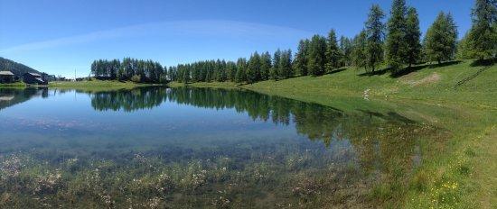 Chamois, Italia: Lago di Lod
