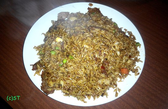 Avondale, Nowa Zelandia: Fried Rice with barbeque pork