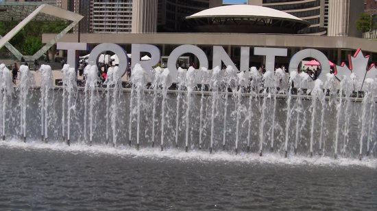 Fountain - Nathan Phillips Square
