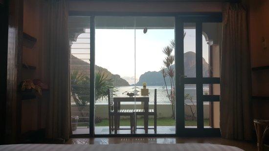 El Nido Beach Hotel: 20150514_060645_large.jpg