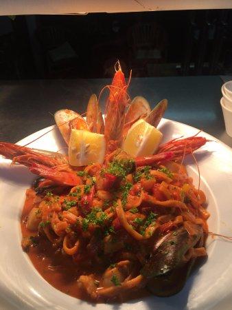 AEGEAN LANE: Seafood Linguine