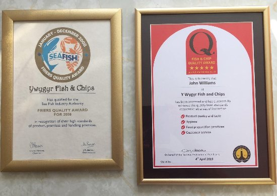 Cemaes Bay, UK: Certificate