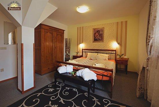 Horni Becva, República Checa: Pokoj De luxe s terasou