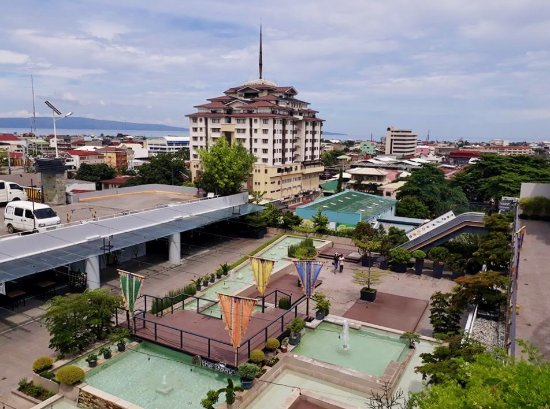 Davao City, Filippinerna: view from the top