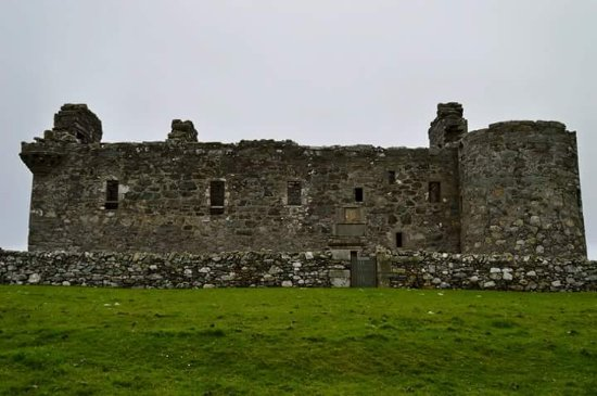 Unst, UK: Muness Castle