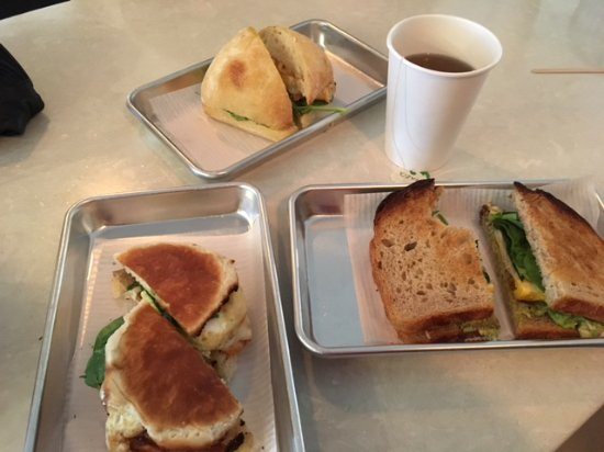 North Country General: Sammy breakfast sandwiches