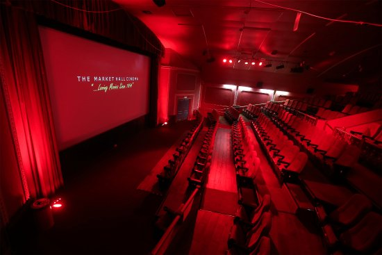 Ebbw Vale, UK: The cinema seats up to 200 people.