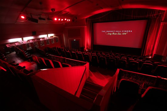 Ebbw Vale, UK: The Cinema is a traditional 'red curtain' venue.