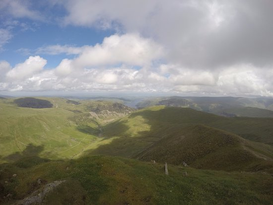 Cockermouth, UK: The views on the way up - stunning!