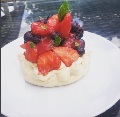 West Malling, UK: Local Summer Berry