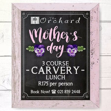 Grabouw, Южная Африка: Mother's Day carvery special at The Orchard Farm Stall