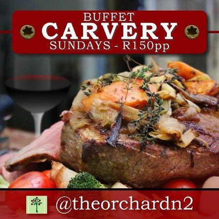 Grabouw, Южная Африка: Carvery Sundays at The Orchard Farm Stall