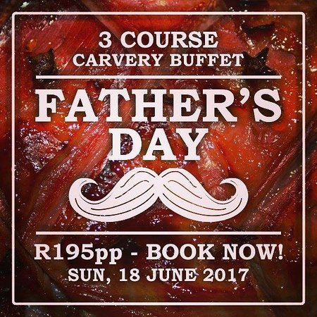 Grabouw, South Africa: Father's Day 2017 - a 3 course carvery buffet at The Orchard Farm Stall