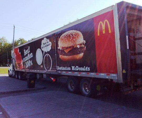 McDonald's: Un camion de malbouffe