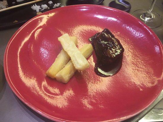 Kabuki: Costilla de wagyu en salsa teriyaki