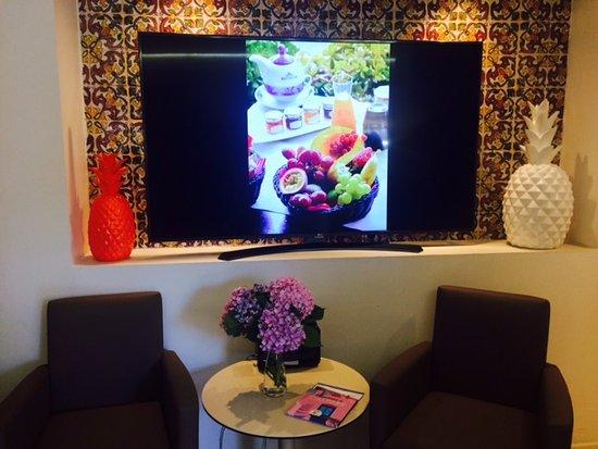 Hotel Restaurant La Fregate: La réception