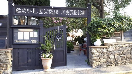 couleurs jardin la croix valmer restaurant avis num ro. Black Bedroom Furniture Sets. Home Design Ideas