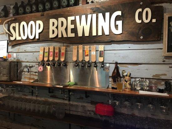 Sloop Brewing @ the Barn
