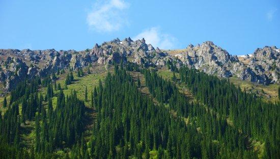 Bole, China: Rocky hill1