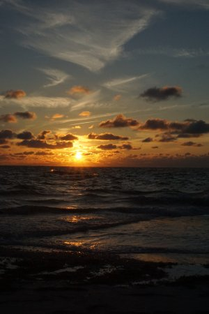 Bean Point: Sunsets are beautiful here