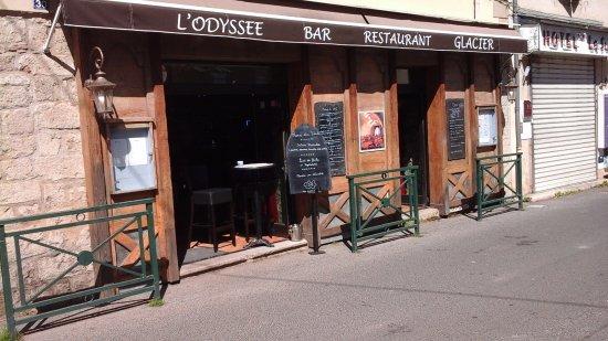Devanture de Bar Restaurant L'Odyssée