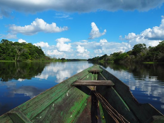 Amazon Backpackers : Boat trip