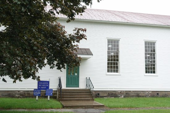 New Lebanon, NY: The Meeting House - exterior.