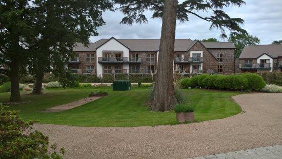 Nantwich, UK: View of The Fairways