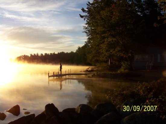 Bridgton, ME: restful in the early morning