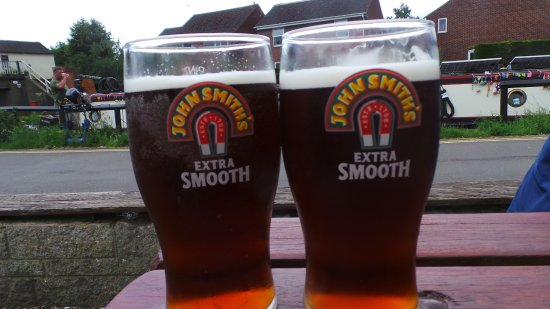 Shardlow, UK: Really nice beer, a first for me