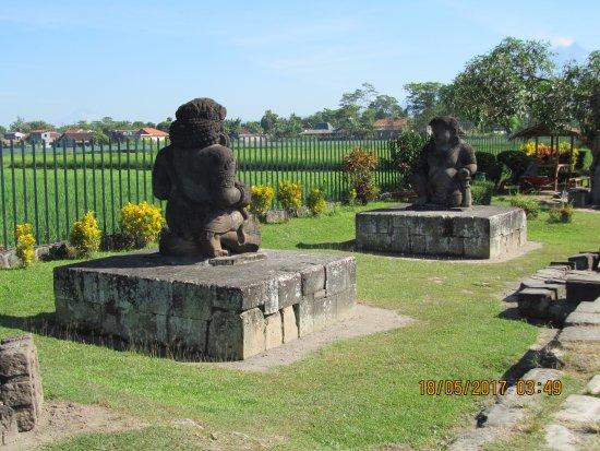 Temple de Prambanan : coppia di sentinelle a protezione del tempio