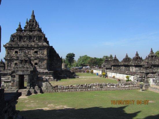 Temple de Prambanan : panoramica dell' area