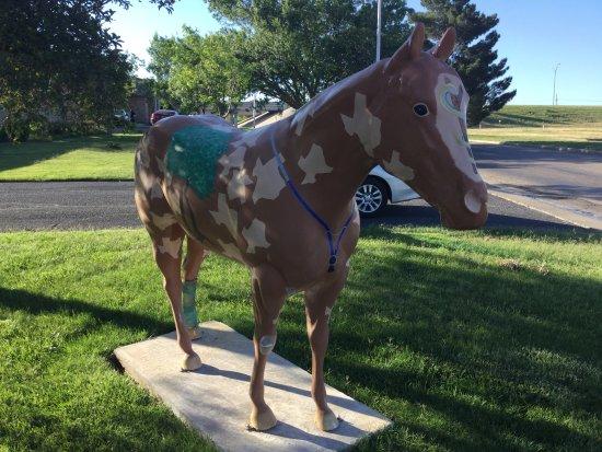 American Quarter Horse Heritage Center & Museum: Hoofprint Horse