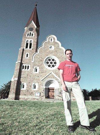 Windhoek, ناميبيا: Namibia Windhoek Christ Church