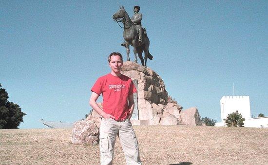 Виндхук, Намибия: Namibia Windhoek Equestrian Statue