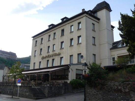 Grand Hotel de Vianden - street view.
