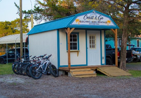 Ocracoke, Carolina del Norte: Our shop!