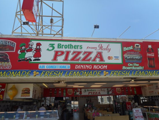 Seaside Heights, NJ: Pizza and more pizza