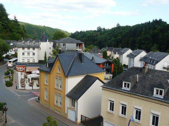 Grand Hotel de Vianden : View from room 306.
