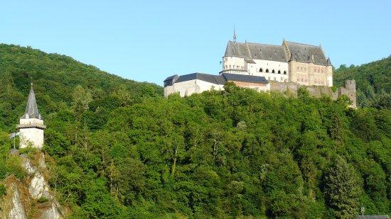 Grand Hotel de Vianden : The castle from room 306.
