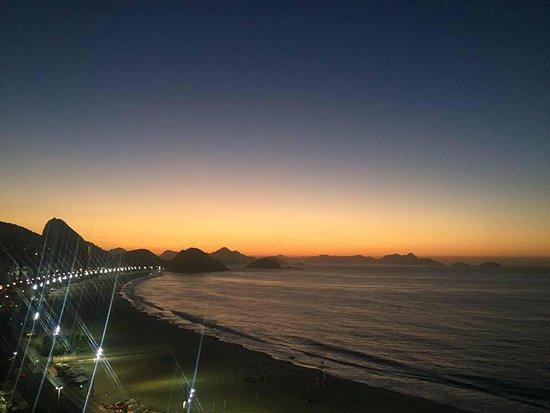 Pestana Rio Atlântica Hotel: Vista da varanda.