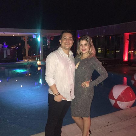 Pestana Rio Atlântica Hotel: Foto da festa ao lado da piscina